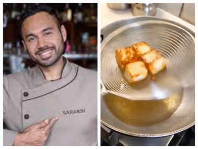 Chef Saransh Goila shares smart hack to keep paneer soft and spongy