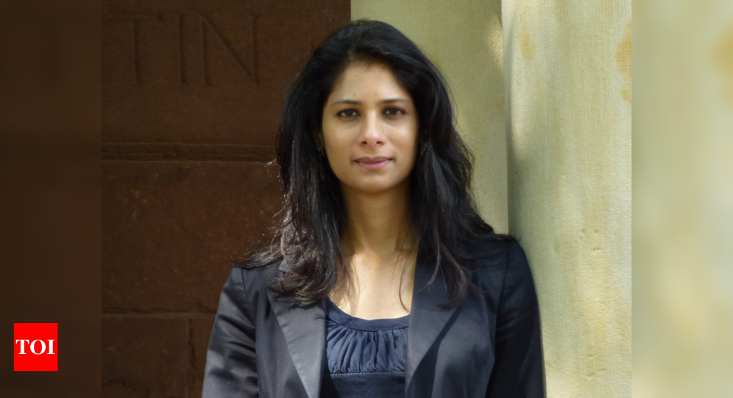 From tenured professor at Harvard to IMF chief economist, Gita Gopinath's journey to the top – Times of India