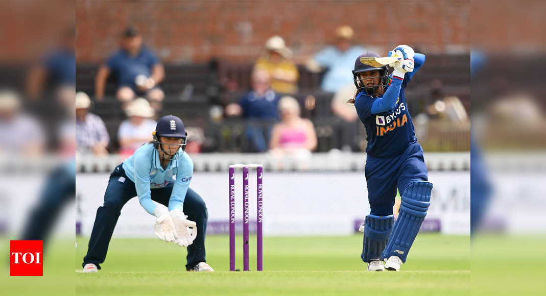 Mithali Raj surpasses Charlotte Edwards to become highest run-getter in women's cricket across formats | Cricket News – Times of India