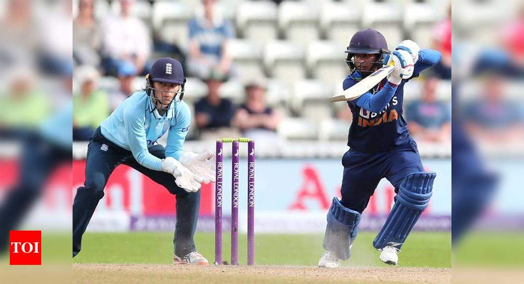 3rd Women's ODI: Mithali, Mandhana and spinners script India's first win of England tour   Cricket News – Times of India