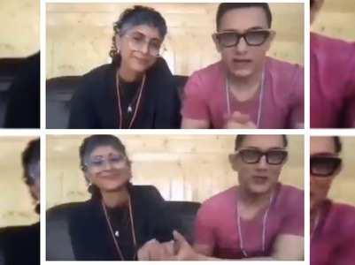 Watch: Aamir-Kiran's video message post-separation