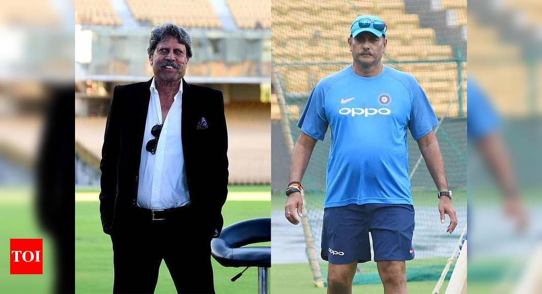 There's no reason to remove Ravi Shastri if he is doing well: Kapil Dev | Cricket News – Times of India