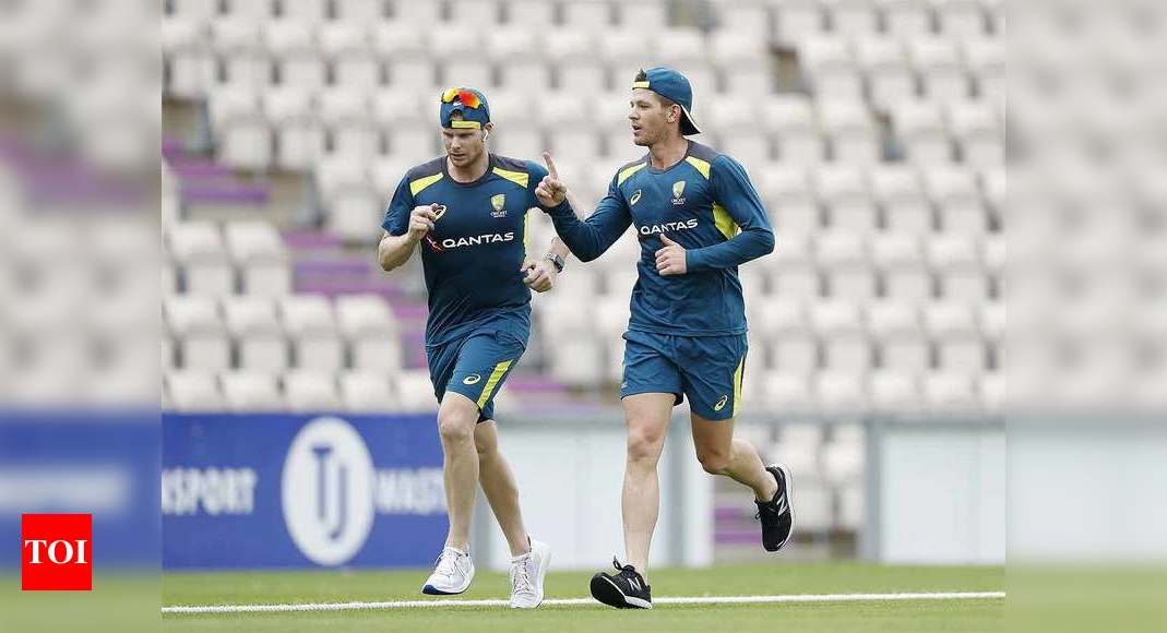 Tim Paine urges Steve Smith not to rush injury return   Cricket News – Times of India