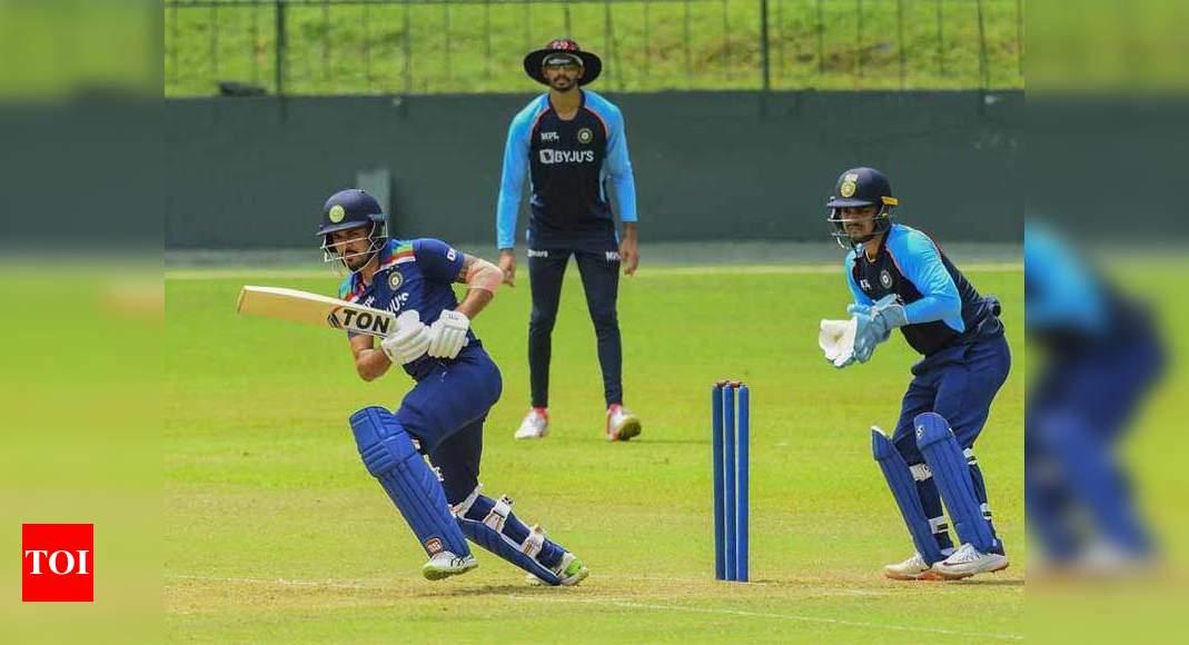 Intra-Squad Simulation T20 Game: Manish, Surya score half-centuries as Bhuvneshwar XI beat Dhawan XI | Cricket News – Times of India