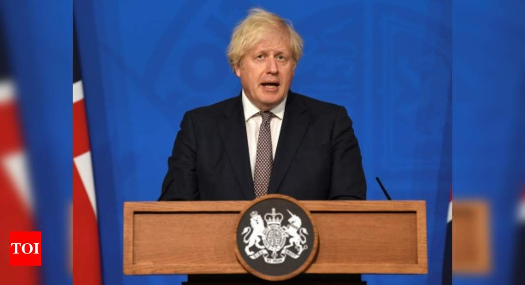 UK must live with virus but restrictions can ease, says Boris Johnson – Times of India