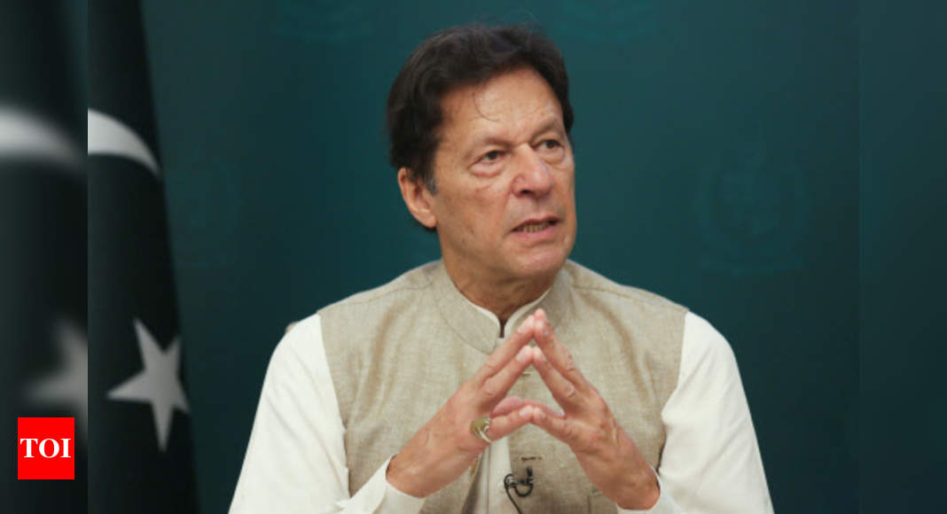 Imran Khan: Pakistan PM Imran Khan indicates he is considering 'talking to insurgents' in Balochistan   World News – Times of India