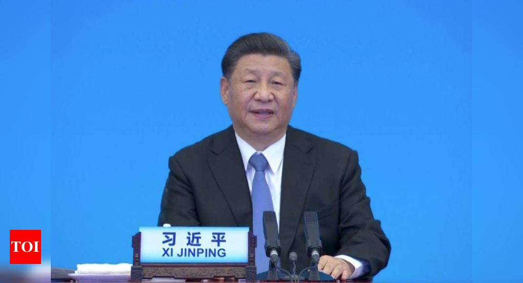 China's Xi criticizes the US in a speech to political parties around the world