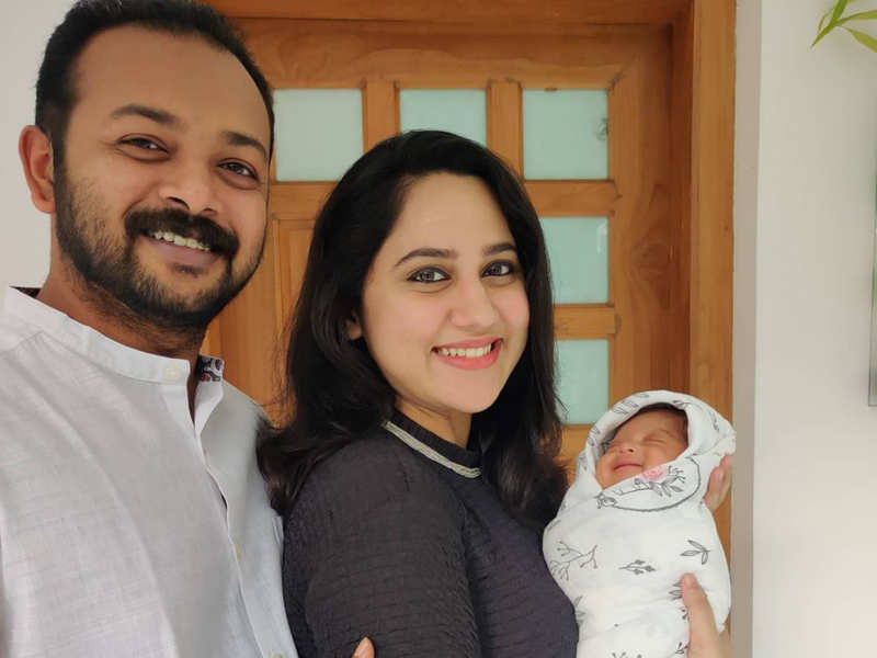 Actress Miya George blessed with a baby boy