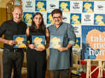Anupam Kher launches a book by author Anushka Dhar