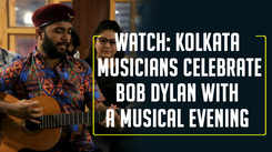 Watch: Kolkata musicians celebrate Bob Dylan with a musical evening