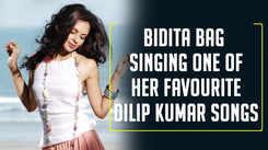Bidita Bag's special tribute to Dilip Kumar
