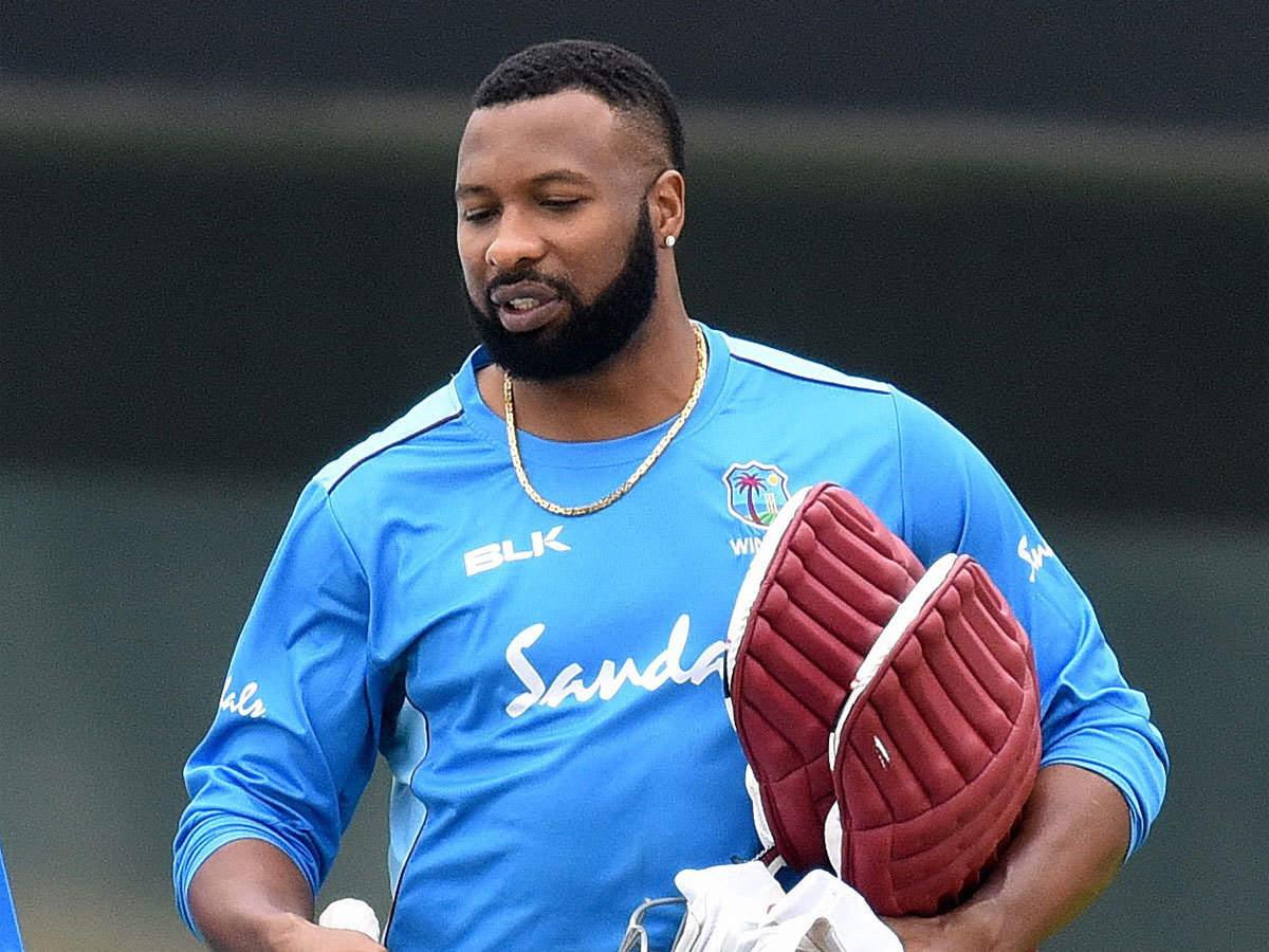 Kieron Pollard cuts the unbound seal to run after Isuru Udana's five-wicket in Caribbean Premier League: CPL 2021