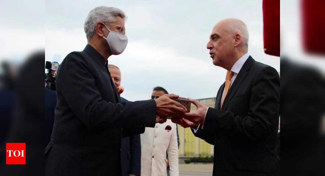 Jaishankar hands over relics of Georgia's Queen Ketevan, describes it emotional moment   India News – Times of India