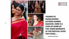 Here's a look at some of the sari moments at the Cannes Film Festival over the years