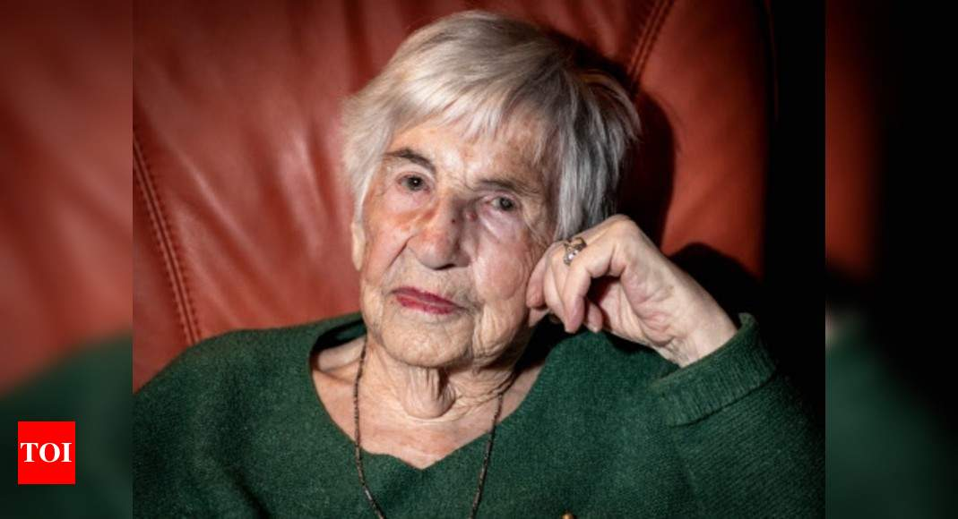 Auschwitz survivor who fought racism with music dies at 96 – Times of India