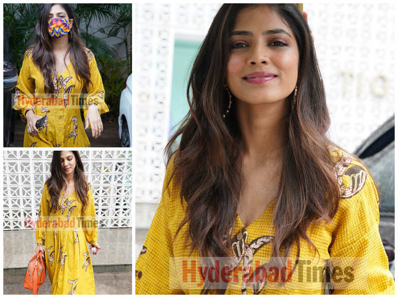 Spotted: Malavika Mohanan looks like a ray of sunshine in her #OOTD