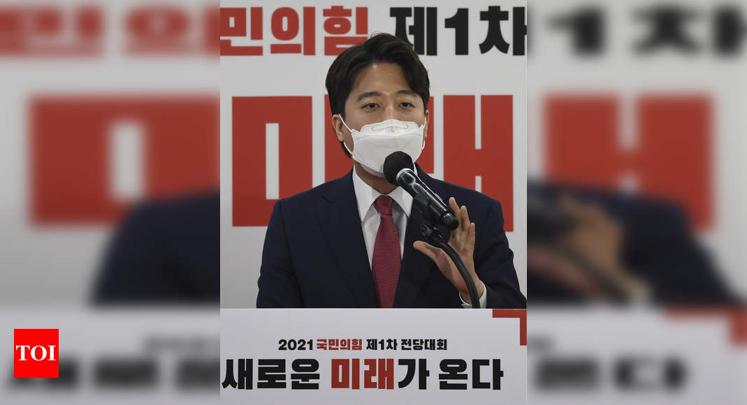 South Korea's Harvard-taught political boss rips China 'cruelty' – Times of India