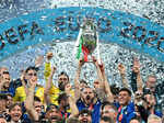 Best images from Euro 2020 final