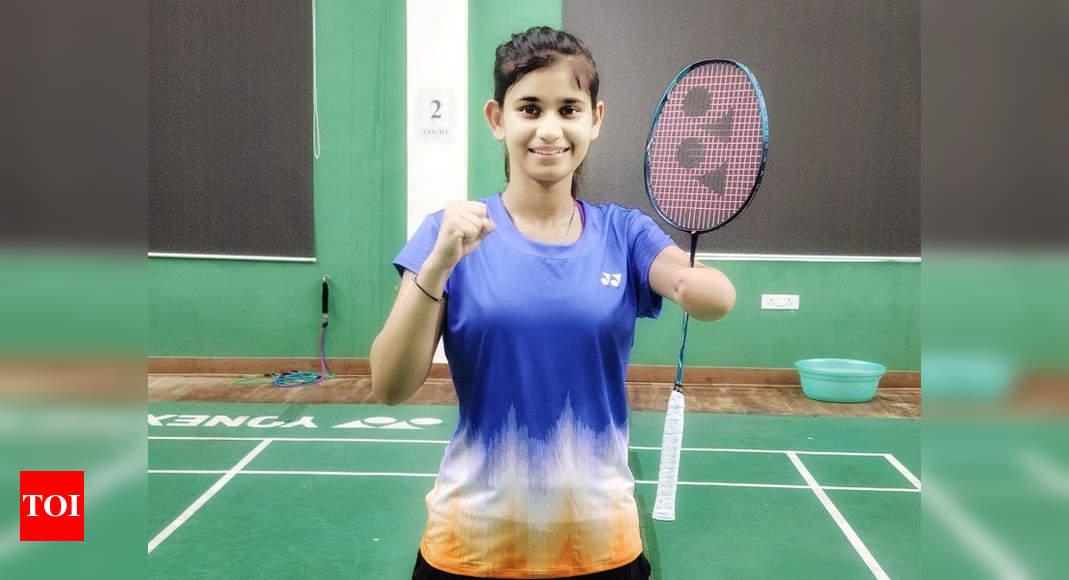 Para-shuttler Palak Kohli to play in three badminton events in Tokyo Paralympics   Badminton News – Times of India