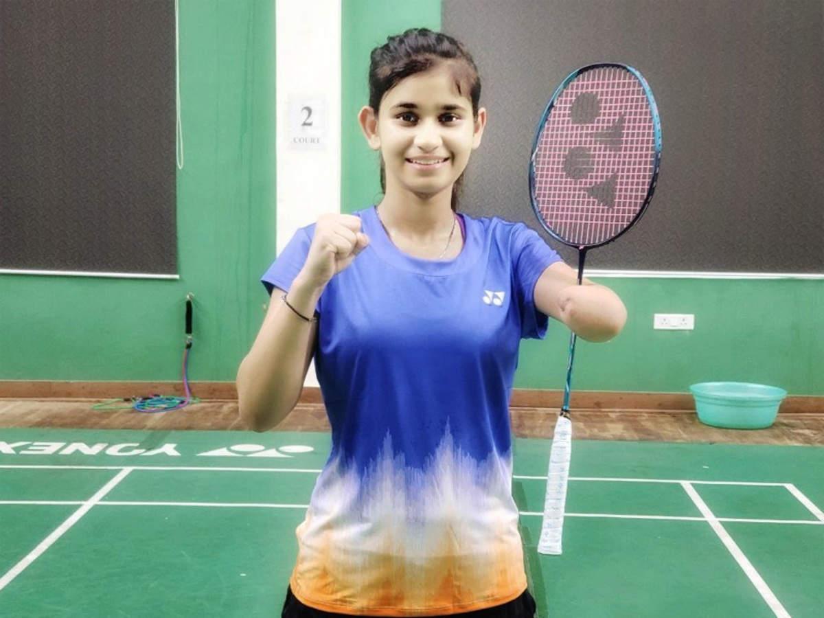 Para-shuttler Palak Kohli to play in three badminton events in Tokyo Paralympics   Tokyo Paralympics News - Times of India