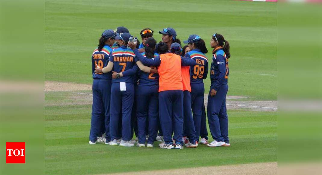 Indian Women cricketers fined for slow over rate   Cricket News – Times of India