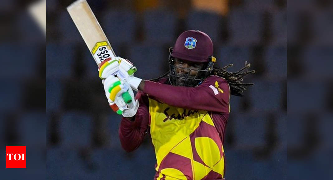 3rd T20I: Chris Gayle's half-century takes West Indies to series win over Australia | Cricket News – Times of India