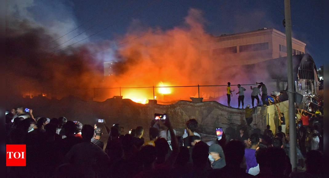 Fire death toll at coronavirus ward in Iraq's Nasiriyah rises to 54 thumbnail