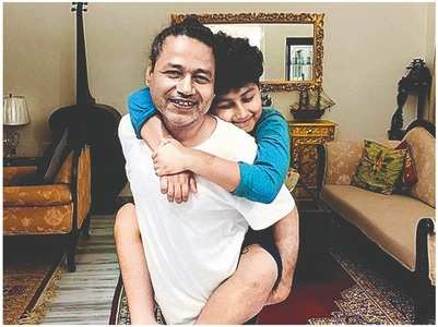 Kailash Kher on spending time with his son