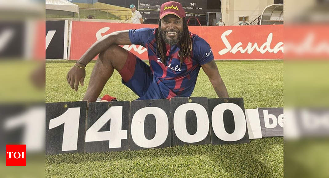 'You guys should be happy to still see me on the field': Chris Gayle | Cricket News – Times of India