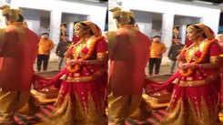 Shubhi Sharma and Jay Yadav shoot for marriage scene, video goes viral