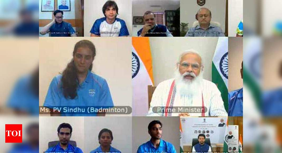 It was an absolute honour speaking to PM Modi with the rest of the contingent: PV Sindhu | Tokyo Olympics News – Times of India