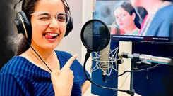 Ashika Ranganath kickstarts Madhagaja's dubbing phase