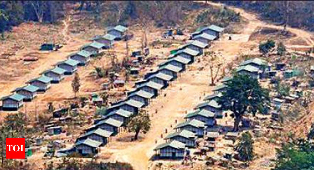 Next to India border, a camp to take on Myanmar junta   India News - Times of India