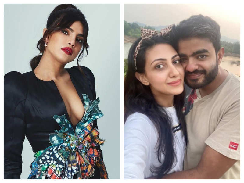 Priyanka Chopra reacts to mushy pictures of brother Siddharth Chopra and his rumoured girlfriend Neelam Upadhyaya