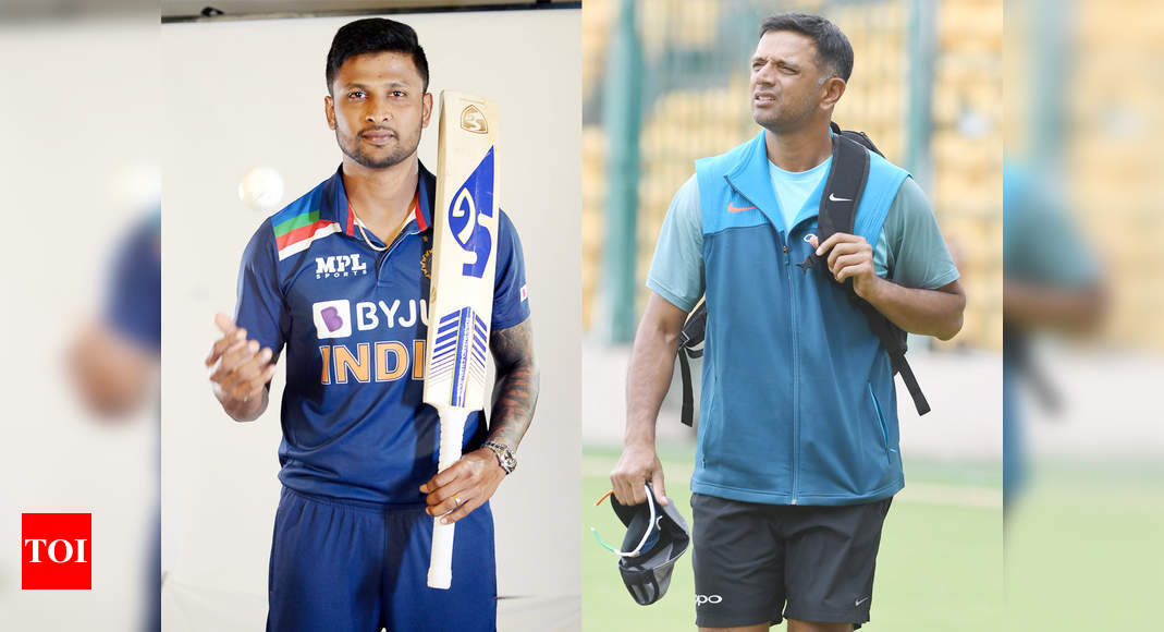 krishnappa gowtham:  India vs Sri Lanka: Rahul Dravid is always just one call away when we need help, says Krishnappa Gowtham | Cricket News – Times of India