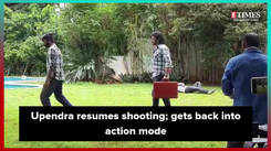 Upendra resumes shooting; gets back into action mode for Lagaam