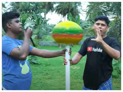 Viral: This 25-kg lollipop is the most exciting thing on internet today!