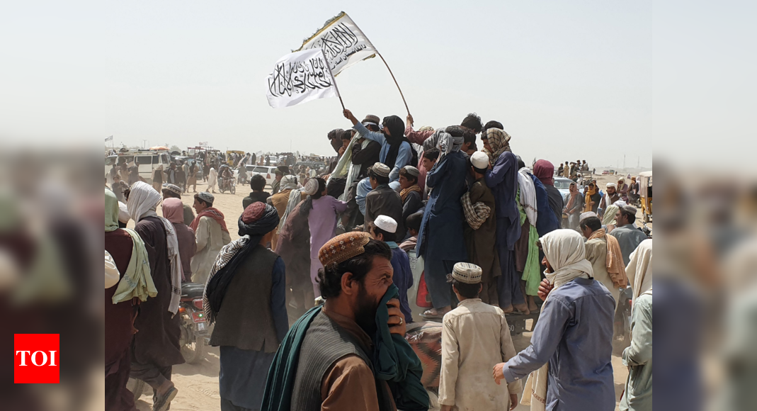 Afghan Taliban seize border crossing with Pakistan in major advance – Times of India