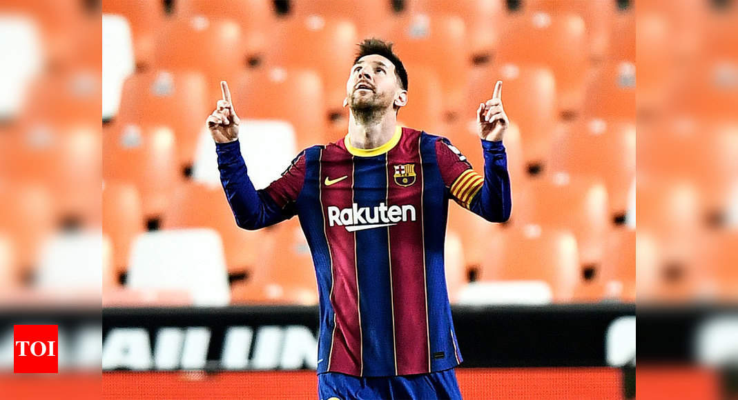 Lionel Messi to sign new five-year deal with Barcelona: Reports   Football News – Times of India