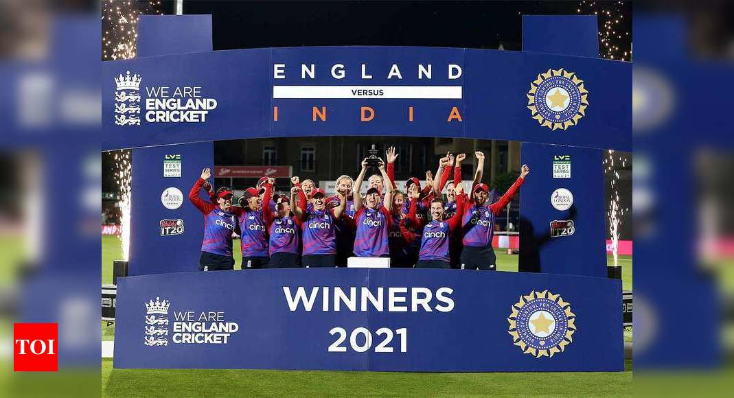 Wyatt's unbeaten 89 clinches final T20I, series for England against India | Cricket News – Times of India