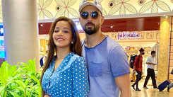 Monalisa jets off to Goa with hubby Vikrant Singh Rajput