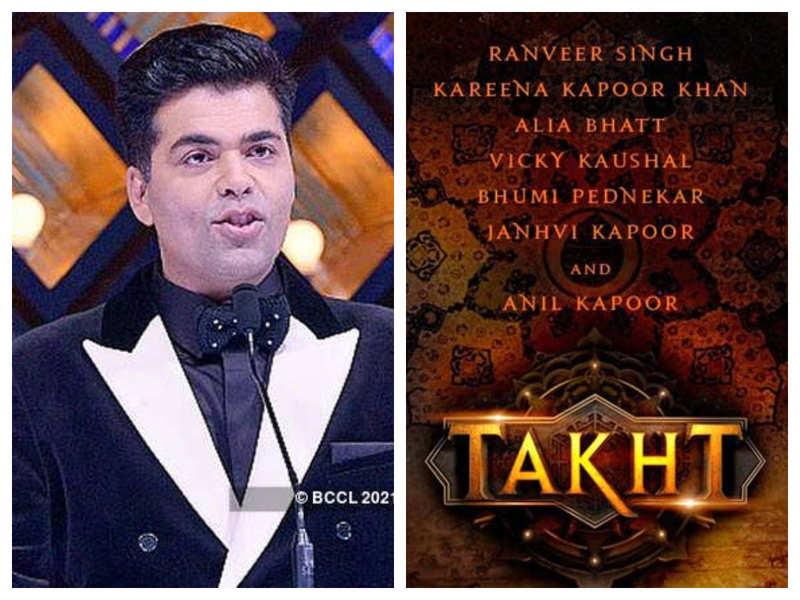 Has Karan Johar shelved his magnum opus 'Takht'?