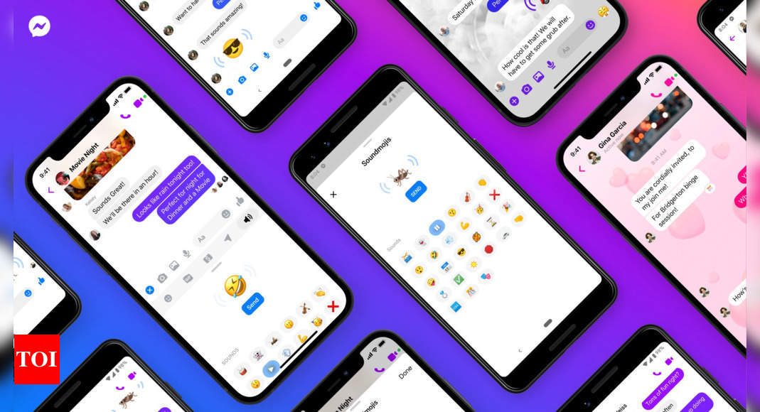 You can now listen to emojis on Facebook Messenger, here's how – Times of India