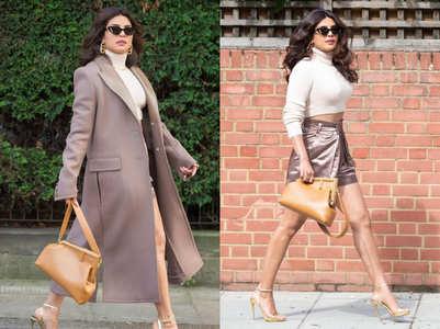Priyanka Chopra struts on the London streets