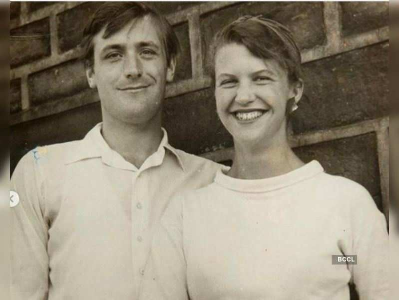 Sylvia Plath with Ted Huges (Photo: Sotheby's / Instagram)