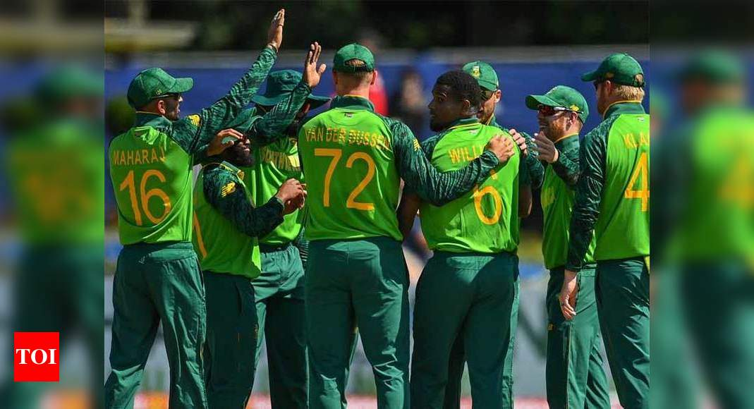 3rd ODI: Malan blasts South Africa to victory against Ireland | Cricket News – Times of India