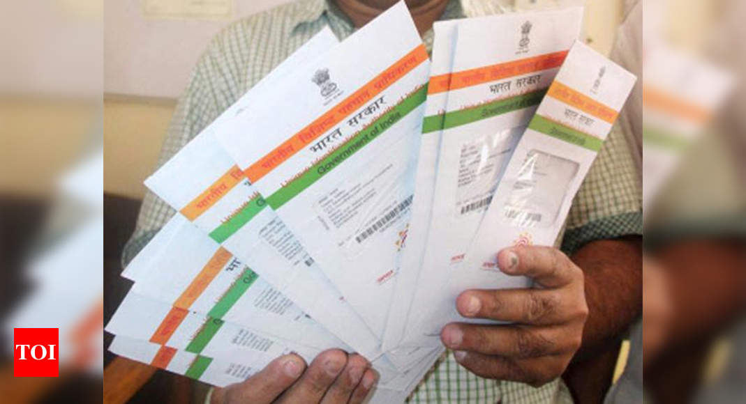 Sharing Aadhaar number online? Don't miss this – Times of India