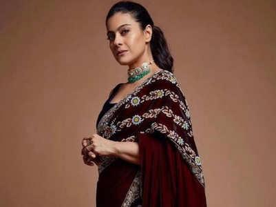 10 times Kajol stunned us in saris
