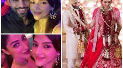 Rahul Vaidya & Disha Parmar's wedding reception: Mehreen Pirzada & Raai Laxmi share inside pic and videos