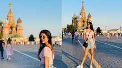 Priya Prakash Varrier aka 'wink girl' gives glimpses of her vacation in Moscow and fans are in awe with the pictures